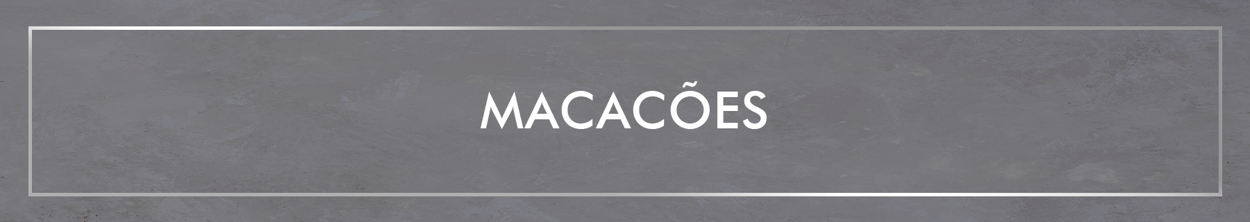 Banner macacao